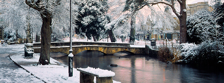 Bourton on the water Winter time