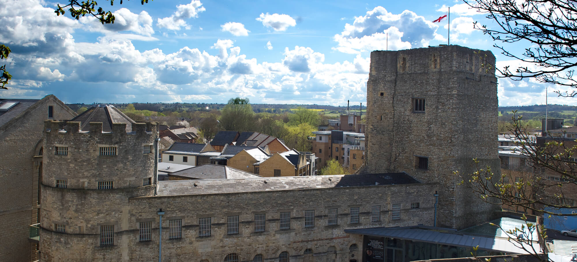 Oxford Castle By Day